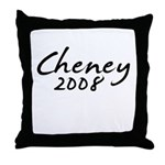 Cheney Autograph Throw Pillow