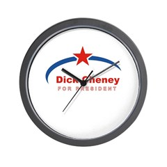 Dick Cheney for President Wall Clock