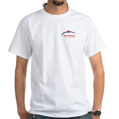 Dick Cheney for President White T-Shirt