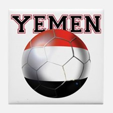 Yemen Football Tile Coaster