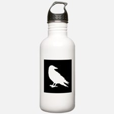 Unique Crow Water Bottle