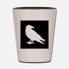 Funny Crow Shot Glass