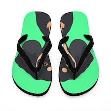 Dachshund Flip Flops