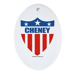 Cheney Oval Ornament