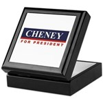 Cheney for President Keepsake Box