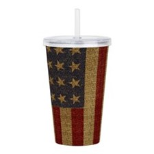 Cute Home brave Acrylic Double-wall Tumbler