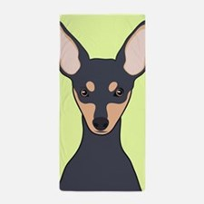 Miniature Pinscher Beach Towel