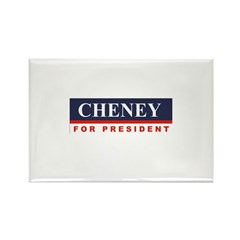 Cheney for President Rectangle Magnet (10 pack)