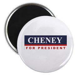 Cheney for President Magnet