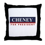 Cheney for President Throw Pillow