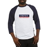Cheney for President Baseball Jersey
