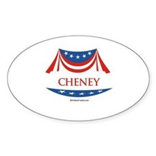 Cheney Oval Decal