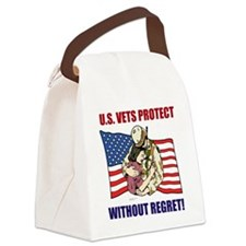 Vets Protect Canvas Lunch Bag