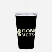 Canadian Flag: Combat Acrylic Double-wall Tumbler