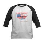 Dick Cheney for President Kids Baseball Jersey