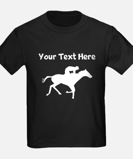 Horse Racing Silhouette T-Shirt