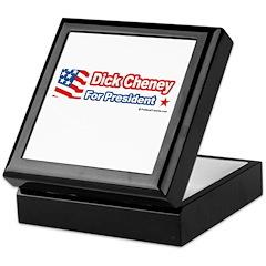 Dick Cheney for President Keepsake Box