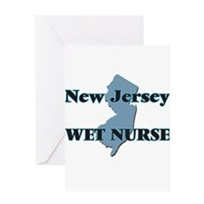 New Jersey Wet Nurse Greeting Cards