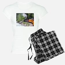 Steam train & river, Colora Pajamas