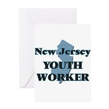 New Jersey Youth Worker Greeting Cards