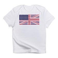 Funny Union jacks Infant T-Shirt