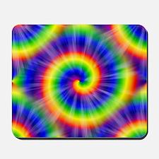 Tie Dye Pattern Tiled Mousepad