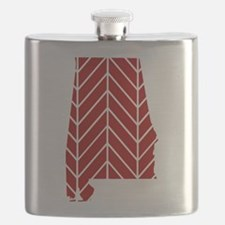 Alabama Chevron Flask