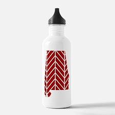 Alabama Chevron Water Bottle