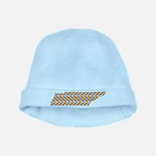 Tennessee Chevron baby hat