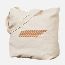 Tennessee Chevron Tote Bag