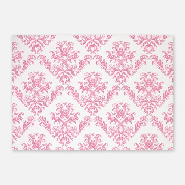 Pink Damask Rugs Pink Damask Area Rugs Indoor Outdoor Rugs