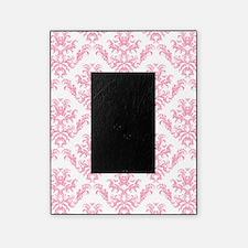Pink Damask Pattern Picture Frame