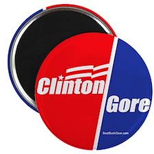 """""""Clinton Gore"""" Magnet"""