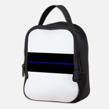 Cute Sheriff thin blue line Neoprene Lunch Bag