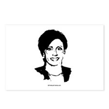 Nancy Pelosi Face Postcards (Package of 8)