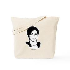 Nancy Pelosi Face Tote Bag