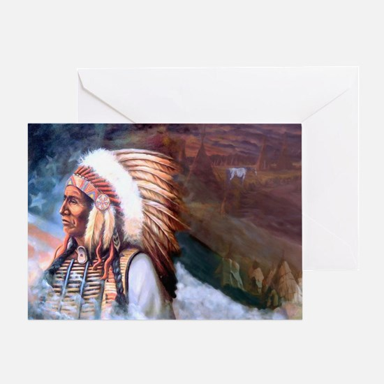 Star Chief Card Greeting Cards