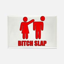 Bitch Slap Rectangle Magnet (100 pack)
