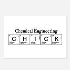 Chemical Engineering Chick Postcards (Package of 8