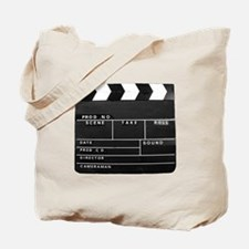 Clapperboard for movie making Tote Bag