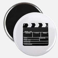 Clapperboard for movie making Magnet