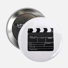 "Clapperboard for movie making 2.25"" Button"