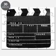 Clapperboard for movie making Puzzle