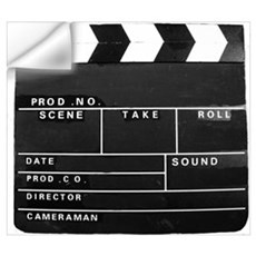 Clapperboard for movie making Wall Decal