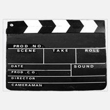 Clapperboard for movie making