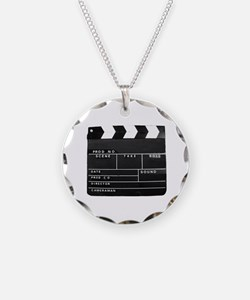 Clapperboard for movie makin Necklace