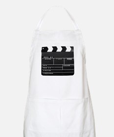 Clapperboard for movie making Apron