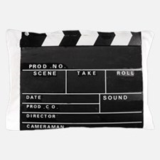 Clapperboard for movie making Pillow Case