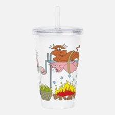 Barbecue Acrylic Double-wall Tumbler