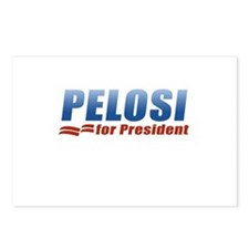 Pelosi for President Postcards (Package of 8)